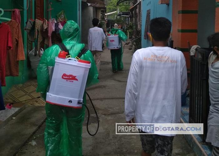 Relawan Pendukung Bobby-Aulia Gelar Bakti Sosial di Medan Selayang