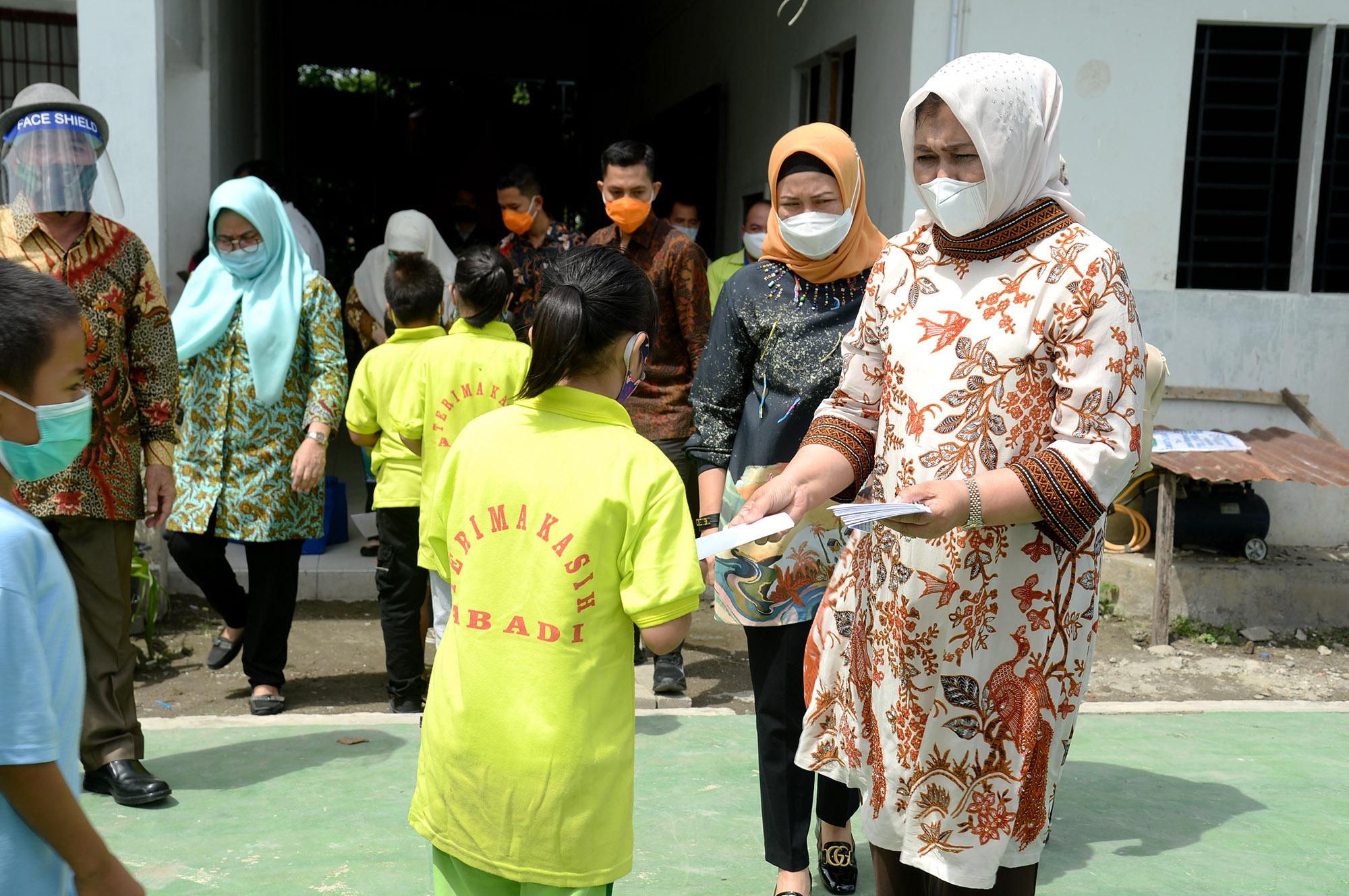 Internet Gratis Dibagikan untuk Anak Didik di Medan
