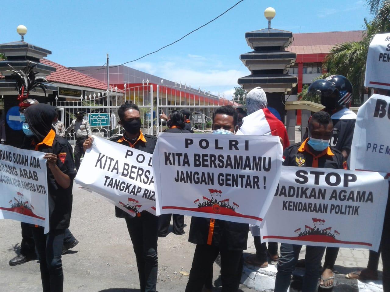 Ormas di Kupang Dukung Pembubaran FPI dan Minta Rizieq Shihab Ditahan