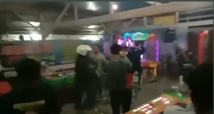 Lapak Judi Dihancurkan Remaja Masjid karna Bikin Resah dan Terkesan Dibiarkan