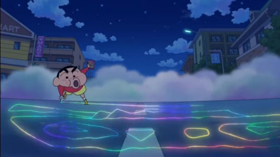 Crayon Shin-chan: Crash! Rakuga Kingdom and Almost Four Heroes