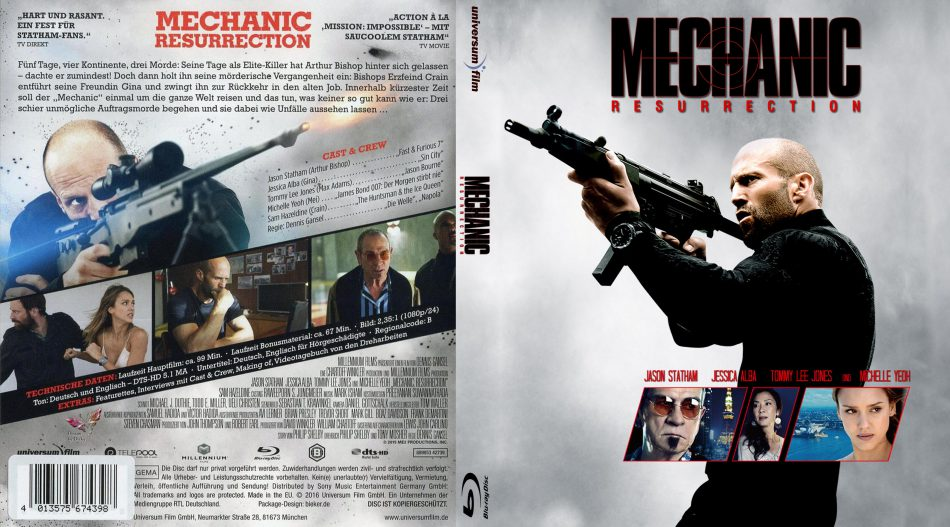 Sinopsis Film The Mechanic: Ressurection Aksi Jason Statham Jadi Pembunuh Bayaran