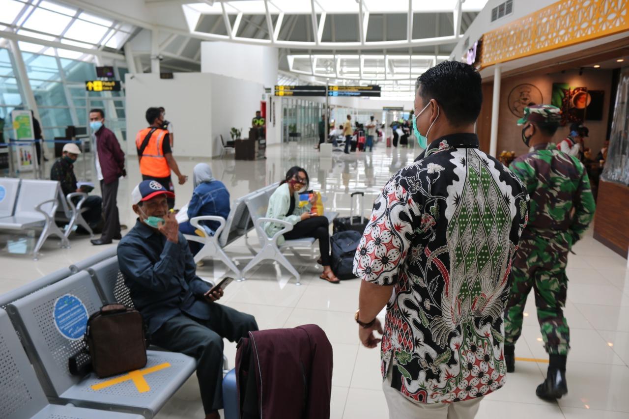 Puncak Arus Mudik, AP I dan Lanud El Tari Kupang Sidak Protokol Kesehatan di Bandara