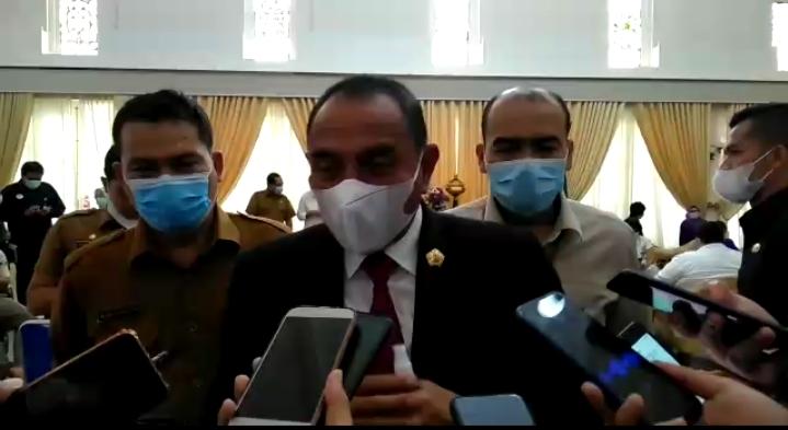Jelang Pilkada Serentak 23 Kabupaten Kota, Gubernur Sumut Imbau Masyarakat Tegakkan Prokes