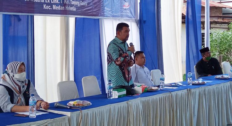 Warga Tanjung Gusta Keluhkan Kondisi Infrastruktur