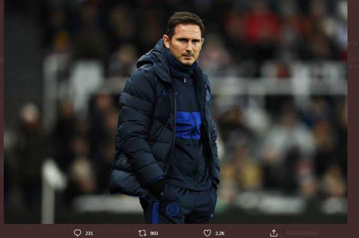 Lampard Terancam Dipecat Usai Chelsea Kalah dari Leicester, Lima Nama Pengganti Beredar