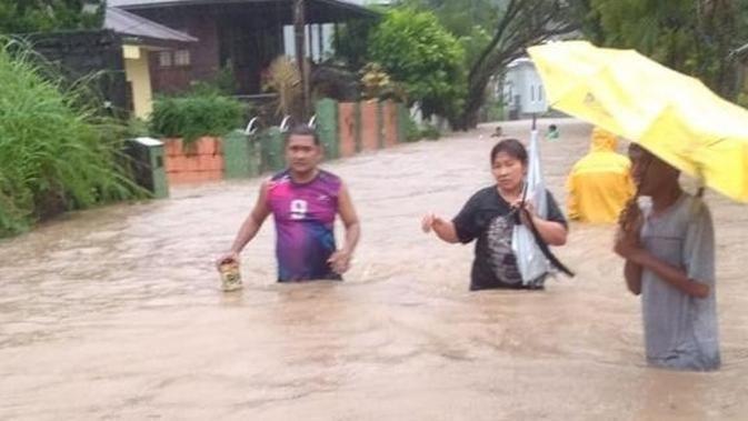 BNPB: 5 Orang Meninggal Dunia Akibat Banjir dan Longsor di Manado