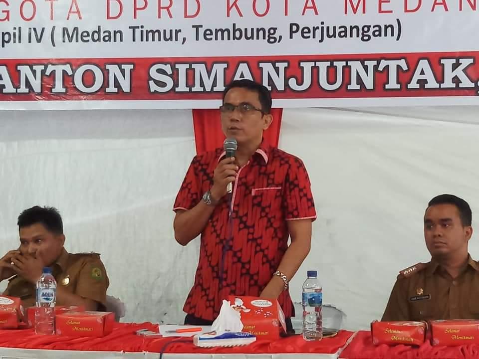Ketua Komisi IV DPRD Medan, Paul MA Simanjuntak. (ist)