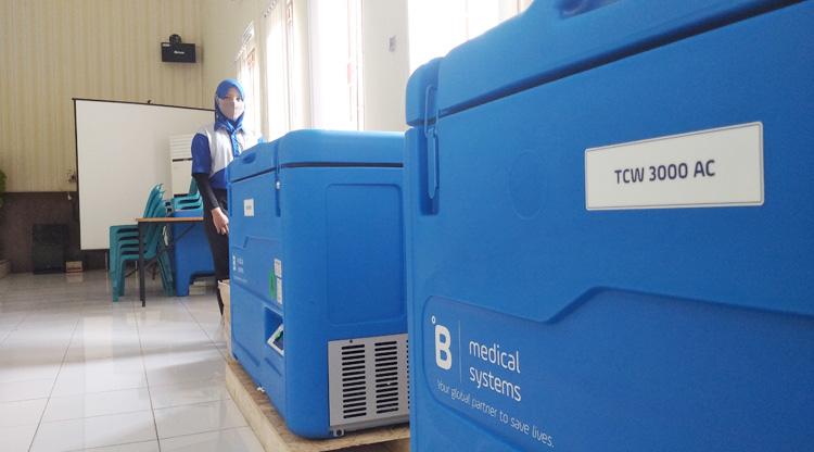5.000 Vial Vaksin Covid-19 Tiba di Binjai