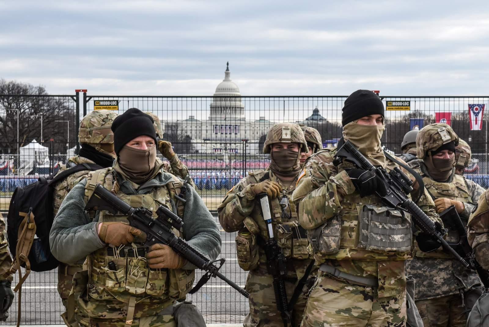 Washington DC di Hari Pelantikan Joe Biden, Kota Hantu yang Dijaga Militer