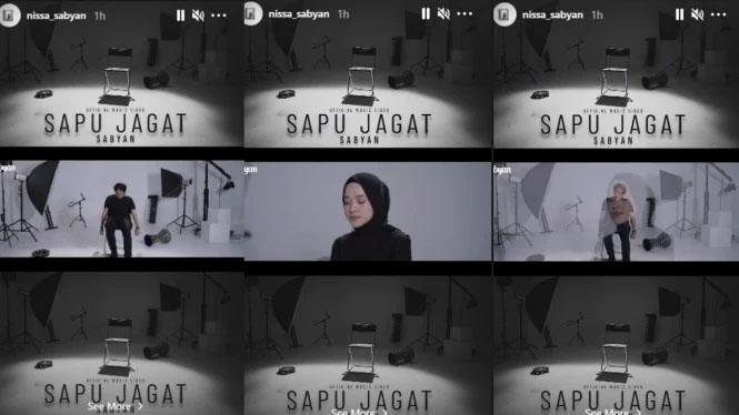 Tak Peduli Isu Selingkuh, Nisa Sabyan Promo Lagu Baru di Instagram
