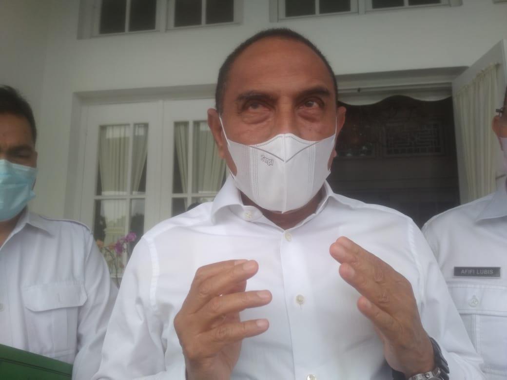Gubernur Sumatera Utara, Edy Rahmayadi.