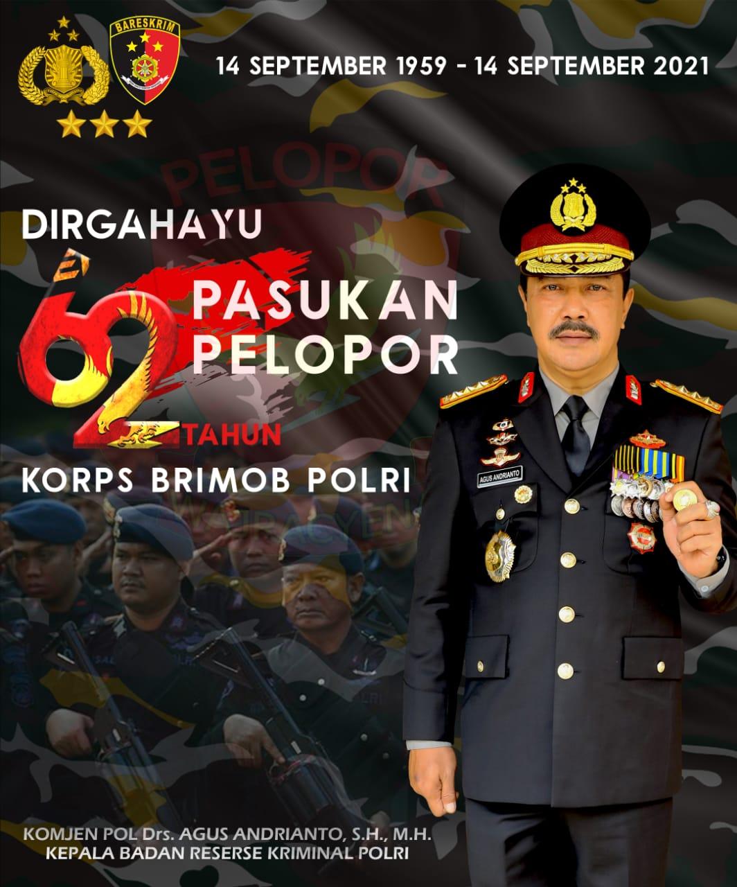 62 Tahun Korps Brimob